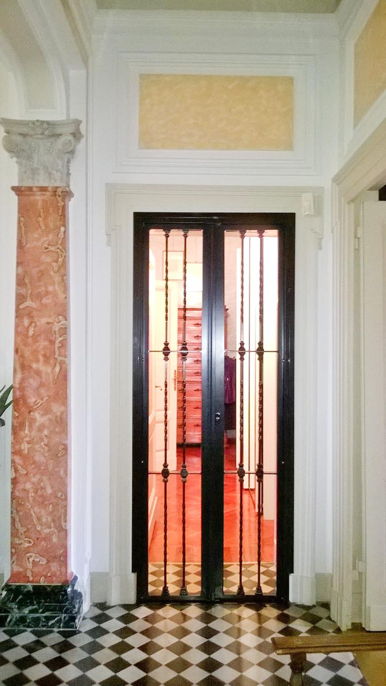 Inferriate per finestre milano e bergamo inferriate per porte metalser - Inferriate per finestre milano ...